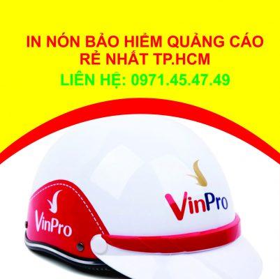 sản xuất nón bảo hiểm quảng cáo theo yêu cầu