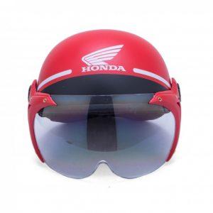 Mũ bảo hiểm quảng cáo nữa đầu - Mẫu có kính - Honda