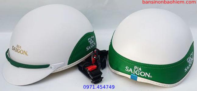 sản xuất mũ bảo hiểm quảng cáo