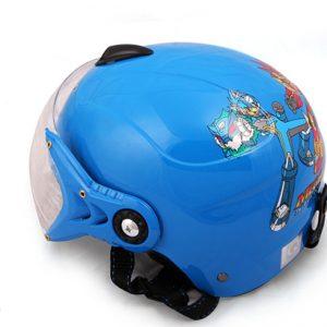 Mũ bảo hiểm quảng cáo trẻ em