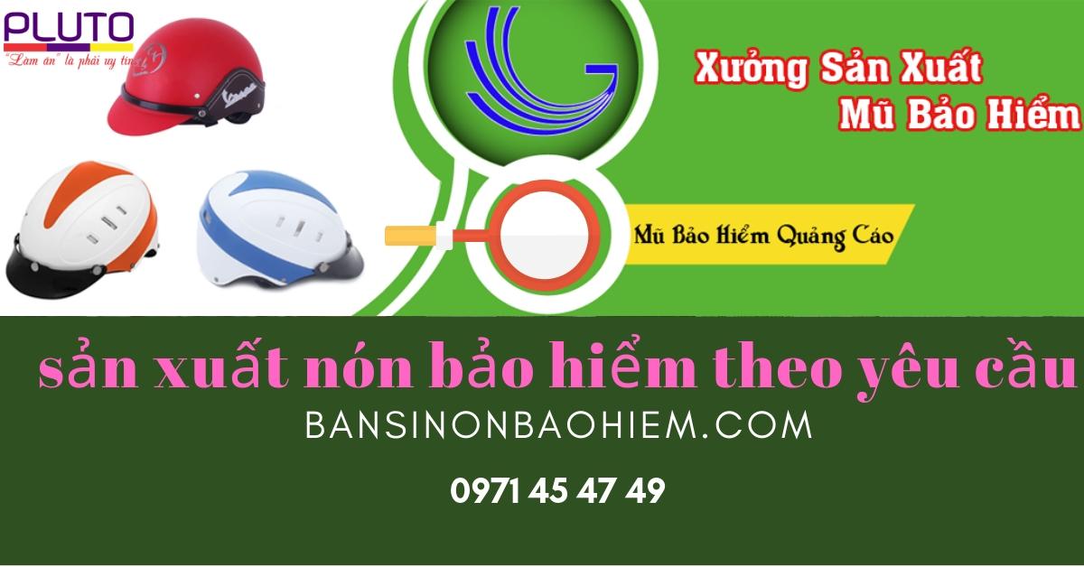 sản xuất nón bảo hiểm theo yêu cầu