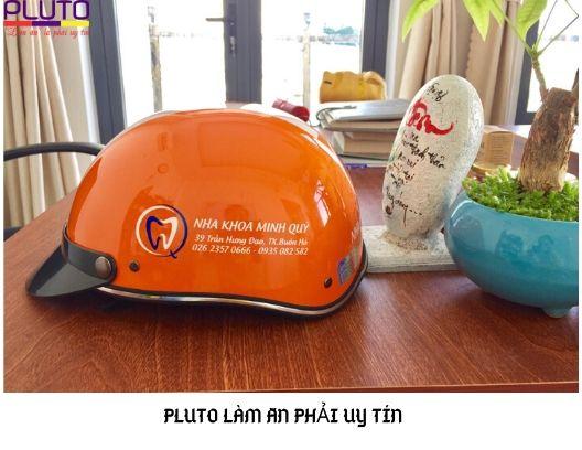 Nón bảo hiểm quà tặng Pluto