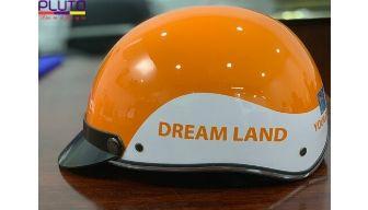 In logo nón bảo hiểm Dream Land
