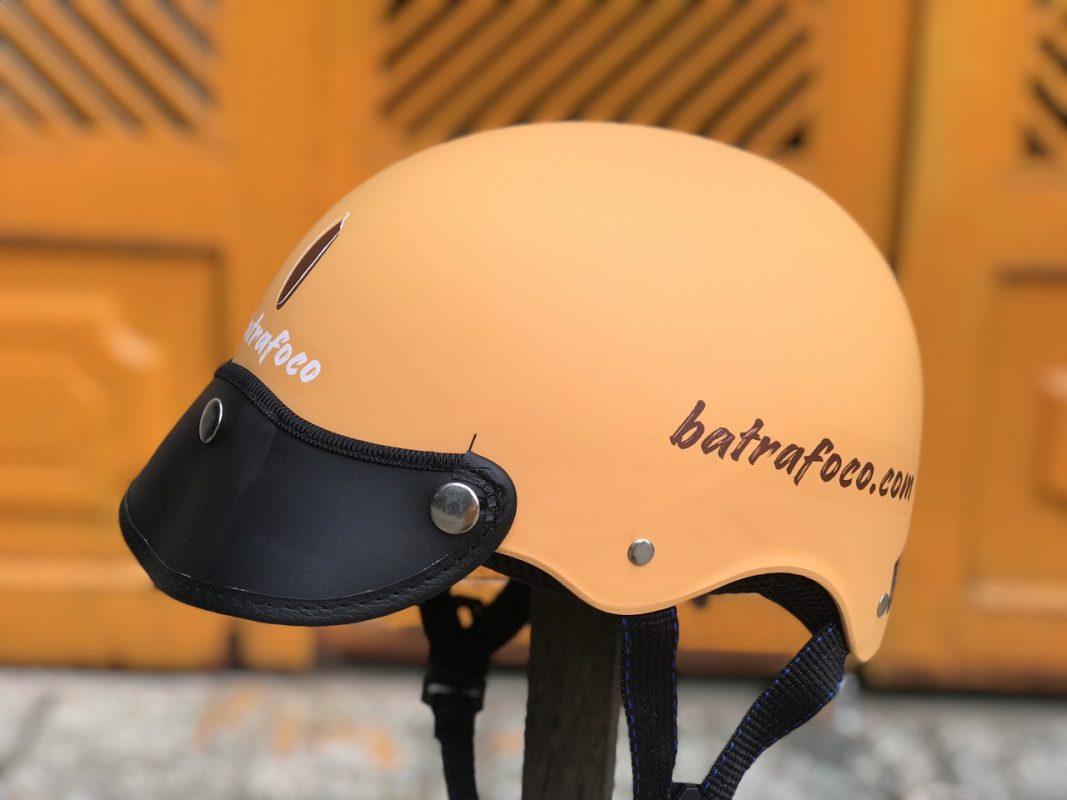In logo nón bảo hiểm Batrafoco