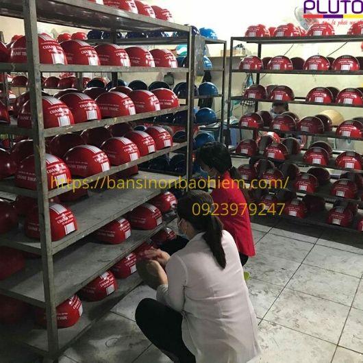 Xưởng sản xuất nón bảo hiểm Pluto
